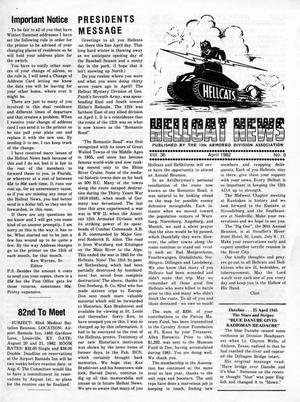 Primary view of object titled 'Hellcat News, (Kirkland, Wash.), Vol. 36, No. 8, Ed. 1, April 1982'.