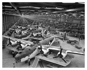 [Aircraft Assembly Line]