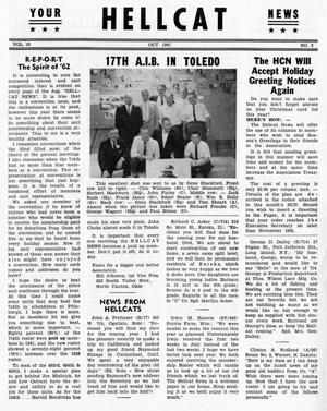 Primary view of object titled 'Hellcat News, (Detroit, Mich.), Vol. 16, No. 2, Ed. 1, October 1961'.