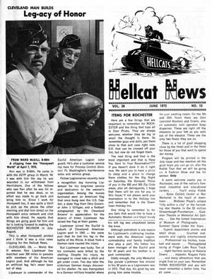 Primary view of object titled 'Hellcat News, (North Aurora, Ill.), Vol. 28, No. 10, Ed. 1, June 1975'.