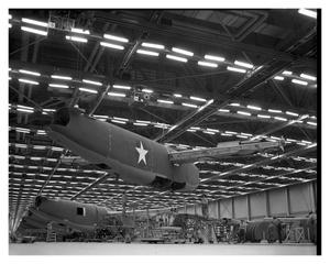 Primary view of object titled '[Aircraft During Assembly]'.