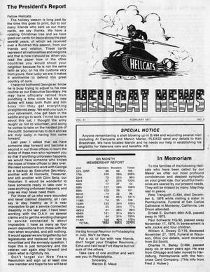 Primary view of object titled 'Hellcat News, (Springfield, Ill.), Vol. 31, No. 5, Ed. 1, February 1977'.