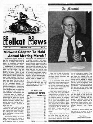 Primary view of object titled 'Hellcat News, (North Aurora, Ill.), Vol. 28, No. 5, Ed. 1, January 1975'.