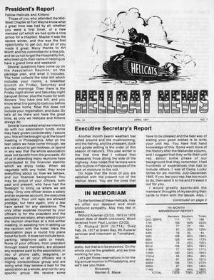 Primary view of object titled 'Hellcat News, (Springfield, Ill.), Vol. 31, No. 7, Ed. 1, April 1977'.