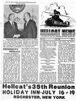 Primary view of object titled 'Hellcat News, (Springfield, Ill.), Vol. 35, No. 11, Ed. 1, July 1981'.