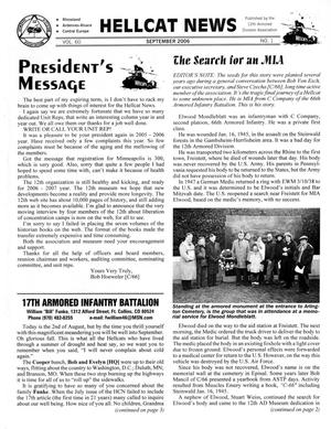 Primary view of object titled 'Hellcat News, (Fullerton, Calif.), Vol. 60, No. 1, Ed. 1, September 2006'.