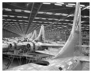 Primary view of object titled 'B-32 Assembly Line- Tail Groups'.