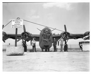 Primary view of object titled '[B-24 Liberator Bomber]'.