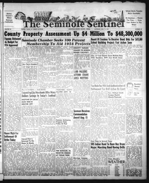 Primary view of object titled 'The Seminole Sentinel (Seminole, Tex.), Vol. 46, No. 39, Ed. 1 Thursday, August 27, 1953'.