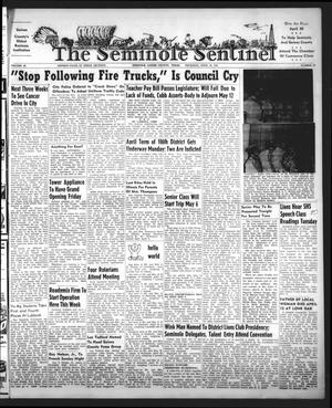 Primary view of object titled 'The Seminole Sentinel (Seminole, Tex.), Vol. 46, No. 22, Ed. 1 Thursday, April 30, 1953'.