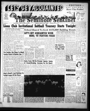 Primary view of object titled 'The Seminole Sentinel (Seminole, Tex.), Vol. 46, No. 35, Ed. 1 Thursday, July 30, 1953'.