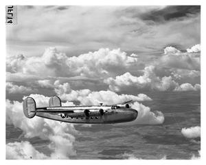 Primary view of object titled '[C-87 In Flight]'.