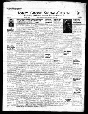 Primary view of object titled 'Honey Grove Signal-Citizen (Honey Grove, Tex.), Vol. 70, No. 8, Ed. 1 Friday, March 4, 1960'.