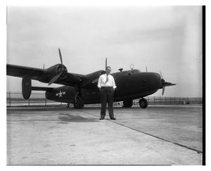 Primary view of object titled '[AM927 C-87 Liberator Express Transport]'.