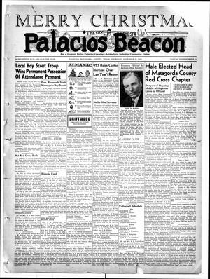 Primary view of object titled 'Palacios Beacon (Palacios, Tex.), Vol. 32, No. 51, Ed. 1 Thursday, December 21, 1939'.