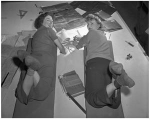 Primary view of object titled '[Two Working Women]'.