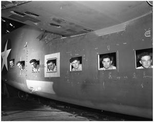 Primary view of object titled '[Seven Brothers in Cargo Plane]'.
