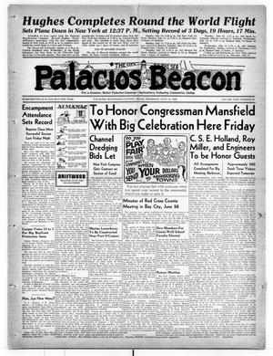 Primary view of object titled 'Palacios Beacon (Palacios, Tex.), Vol. 31, No. 28, Ed. 1 Thursday, July 14, 1938'.
