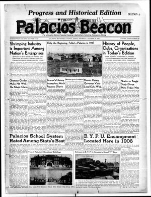 Primary view of object titled 'Palacios Beacon (Palacios, Tex.), Vol. 32, No. 42, Ed. 1 Thursday, October 19, 1939'.