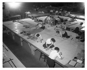 Primary view of object titled '[Convair Loft Work Shop]'.
