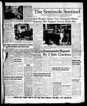 Primary view of object titled 'The Seminole Sentinel (Seminole, Tex.), Vol. 42, No. 14, Ed. 1 Thursday, March 10, 1949'.
