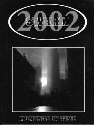 Primary view of object titled 'The Swarm, Yearbook of Howard Payne University, 2002'.