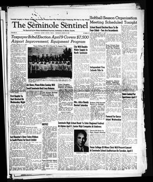 Primary view of object titled 'The Seminole Sentinel (Seminole, Tex.), Vol. 42, No. 16, Ed. 1 Thursday, March 24, 1949'.