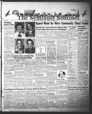 Primary view of object titled 'The Seminole Sentinel (Seminole, Tex.), Vol. 44, No. 51, Ed. 1 Thursday, November 22, 1951'.