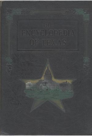 Primary view of object titled 'The encyclopedia of Texas, Vol. 1'.