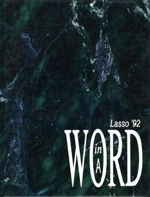 Primary view of object titled 'The Lasso, Yearbook of Howard Payne University, 1992'.