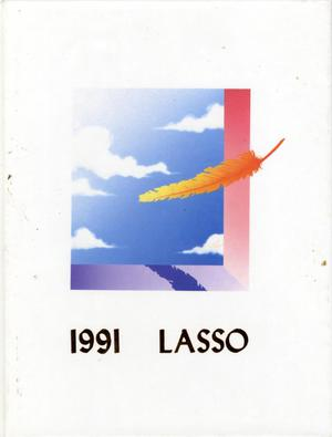 Primary view of object titled 'The Lasso, Yearbook of Howard Payne University, 1991'.