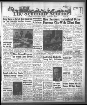 Primary view of object titled 'The Seminole Sentinel (Seminole, Tex.), Vol. 50, No. 21, Ed. 1 Thursday, April 18, 1957'.