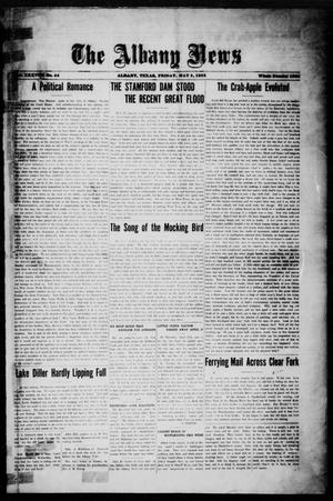 Primary view of object titled 'The Albany News (Albany, Tex.), Vol. 38, No. 44, Ed. 1 Friday, May 5, 1922'.