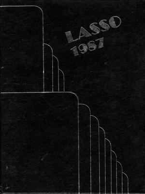 Primary view of object titled 'The Lasso, Yearbook of Howard Payne University, 1987'.