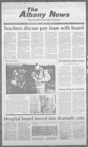 Primary view of object titled 'The Albany News (Albany, Tex.), Vol. 120, No. 46, Ed. 1 Thursday, April 18, 1996'.