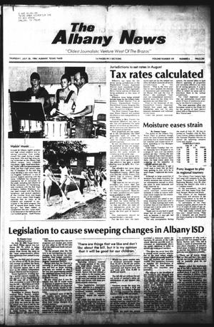 Primary view of object titled 'The Albany News (Albany, Tex.), Vol. 109, No. 6, Ed. 1 Thursday, July 26, 1984'.