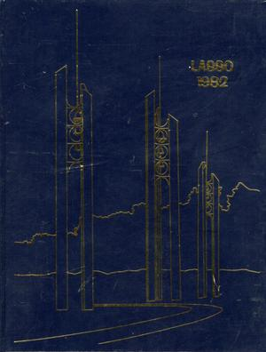 Primary view of object titled 'The Lasso, Yearbook of Howard Payne University, 1982'.