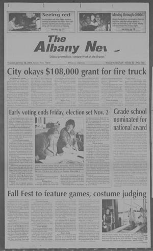 Primary view of object titled 'The Albany News (Albany, Tex.), Vol. 129, No. 22, Ed. 1 Thursday, October 28, 2004'.