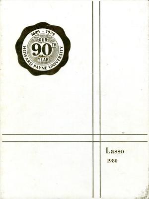 Primary view of object titled 'The Lasso, Yearbook of Howard Payne University, 1980'.