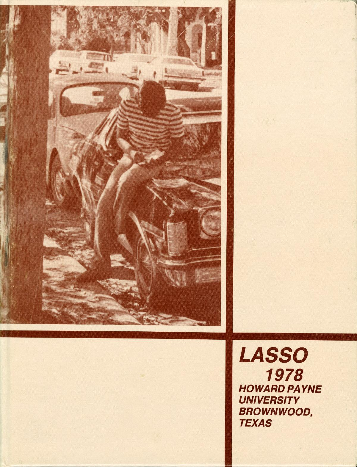 The Lasso, Yearbook of Howard Payne University, 1978                                                                                                      Front Cover