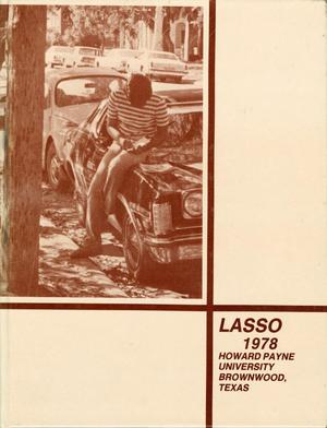 Primary view of object titled 'The Lasso, Yearbook of Howard Payne University, 1978'.