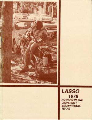 The Lasso, Yearbook of Howard Payne University, 1978, The Lasso, Lasso 1978, Volume 65, Number 1, Howard Payne University, Brownwood, Texas, 76801, Lasso 1978, Volume 65, Number 2, Howard Payne University, Brownwood, Texas, 76801