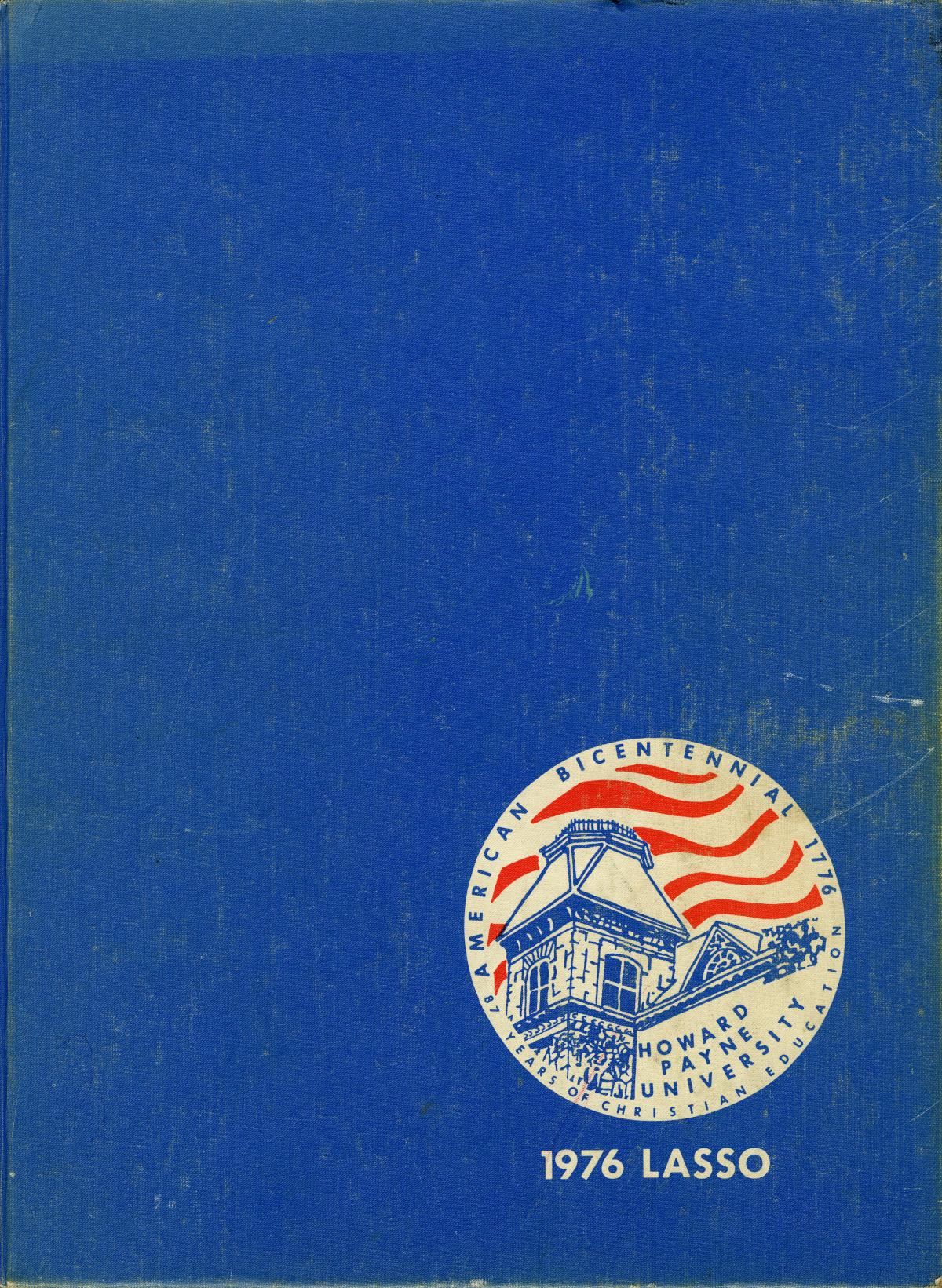 The Lasso, Yearbook of Howard Payne University, 1976                                                                                                      Front Cover