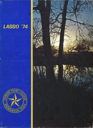 Primary view of object titled 'The Lasso, Yearbook of Howard Payne College, 1974'.