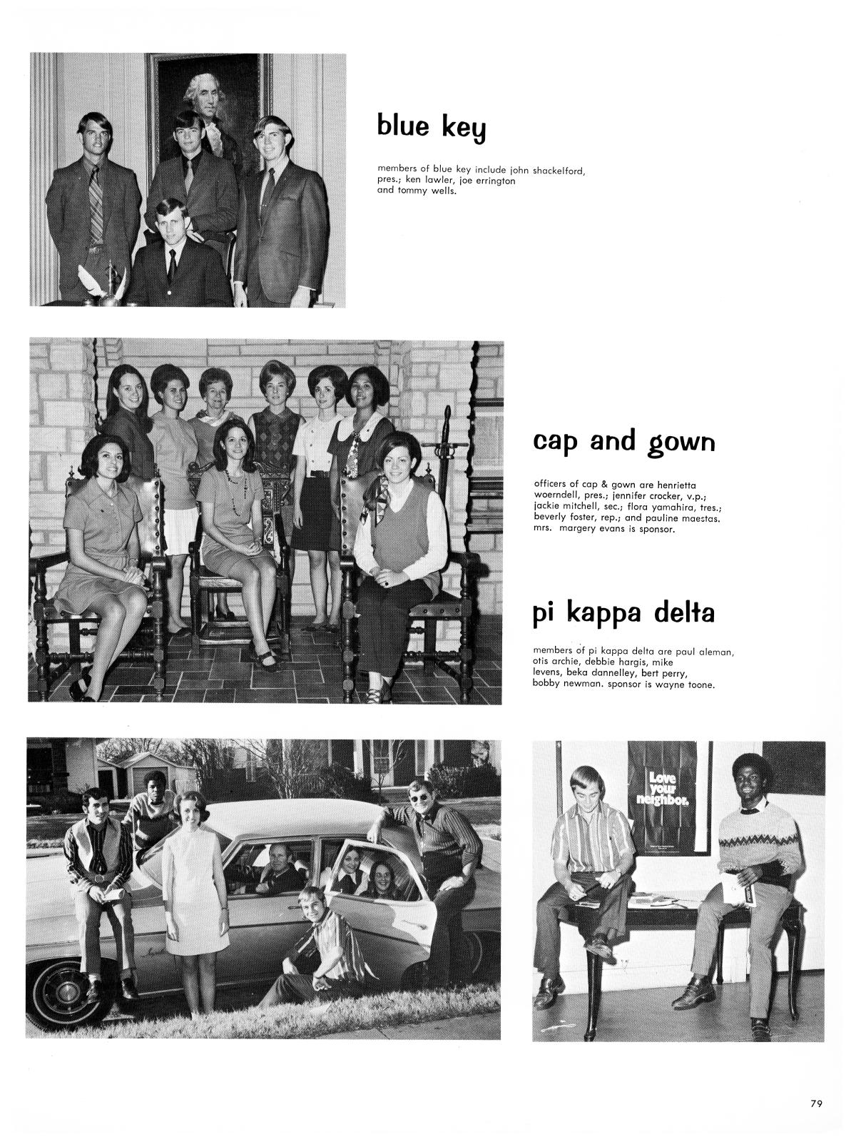 The Lasso, Yearbook of Howard Payne College, 1971 - Page 79 - The ...