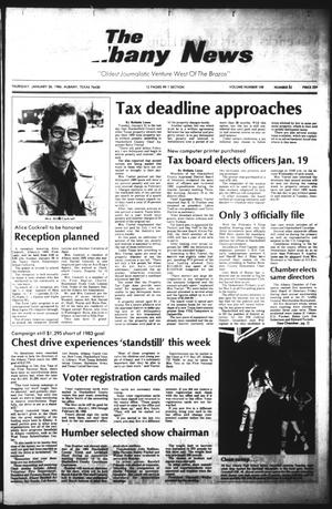 Primary view of object titled 'The Albany News (Albany, Tex.), Vol. 108, No. 32, Ed. 1 Thursday, January 26, 1984'.