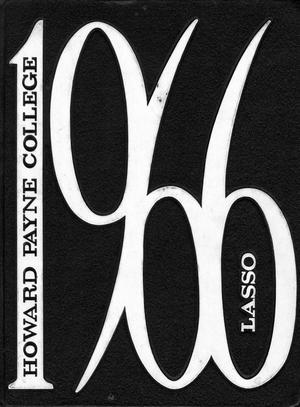 The Lasso, Yearbook of Howard Payne College, 1966