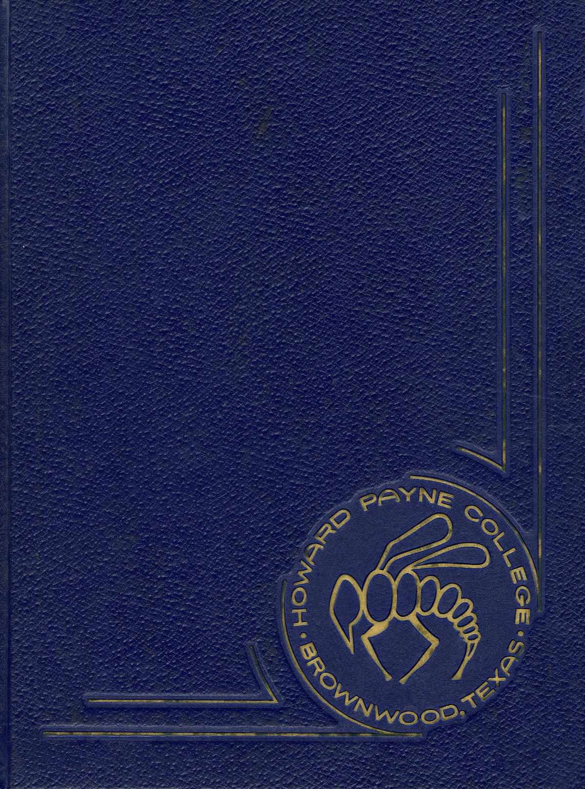 The Lasso, Yearbook of Howard Payne College, 1965                                                                                                      Front Cover