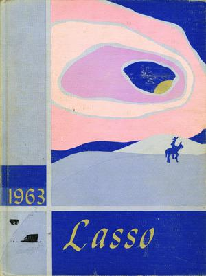 Primary view of object titled 'The Lasso, Yearbook of Howard Payne College, 1963'.