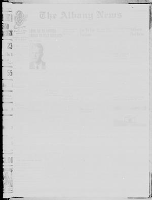 Primary view of object titled 'The Albany News (Albany, Tex.), Vol. 78, No. 3, Ed. 1 Thursday, September 21, 1961'.